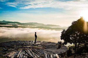 cầu gỗ săn mây Đà Lạt ở đâu