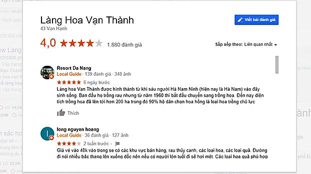 Review làng hoa vạn thành Đà Lạt