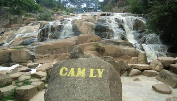 thác Cam Ly Đà lạt