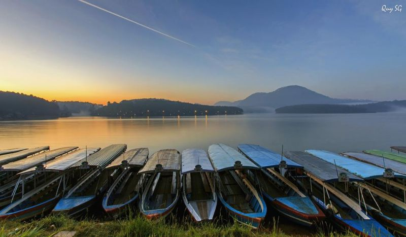 trải nghiệm Hồ Tuyền Lâm