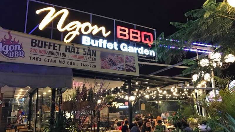 Buffet Garden Đà Lạt