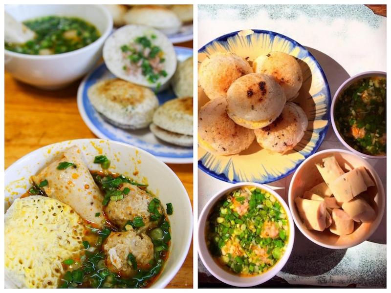 Các món ăn đêm ở Đà Lạt