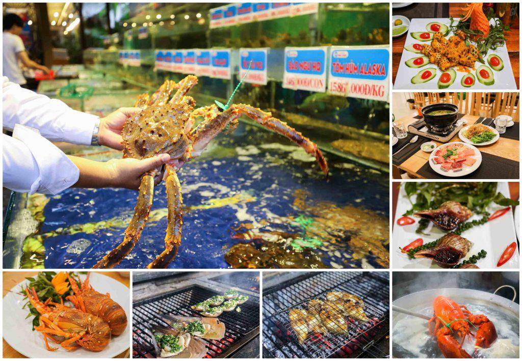 Các quán hải sản ngon ở Đà Lạt