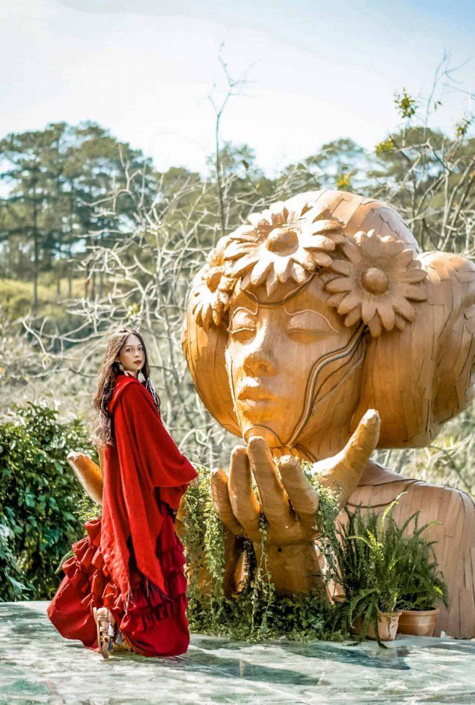 Khu vườn cổ tích ở Đà Lạt