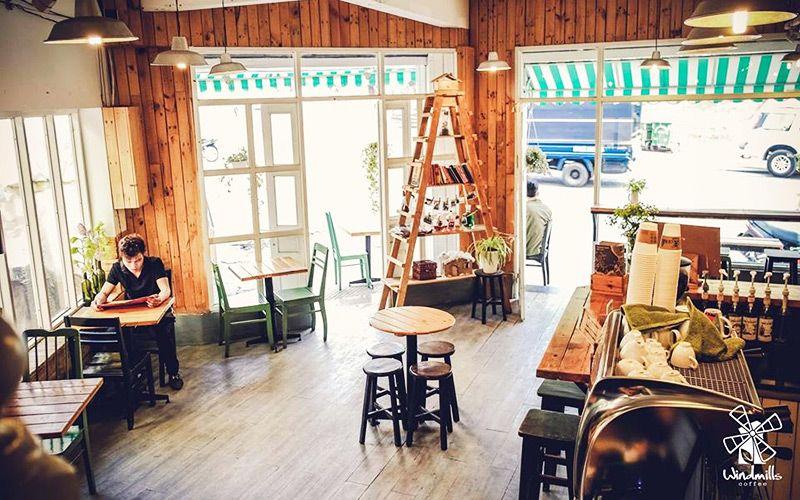Nhà hàng cafe Windmills Đà Lạt