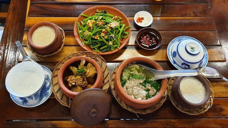Quán cơm ở Đà Lạt