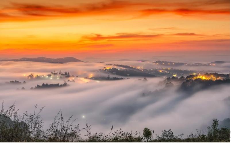 Review tour săn mây Đà Lạt