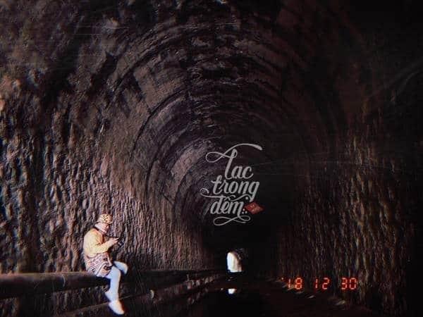 Đường hầm hỏa sa Đà Lạt