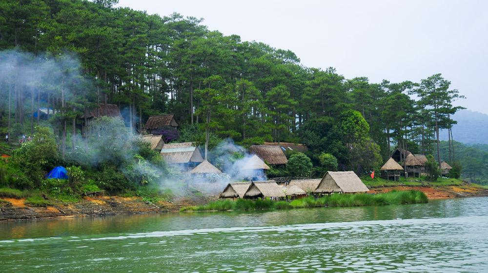 Hồ Tuyền lâm ở Đà Lạt