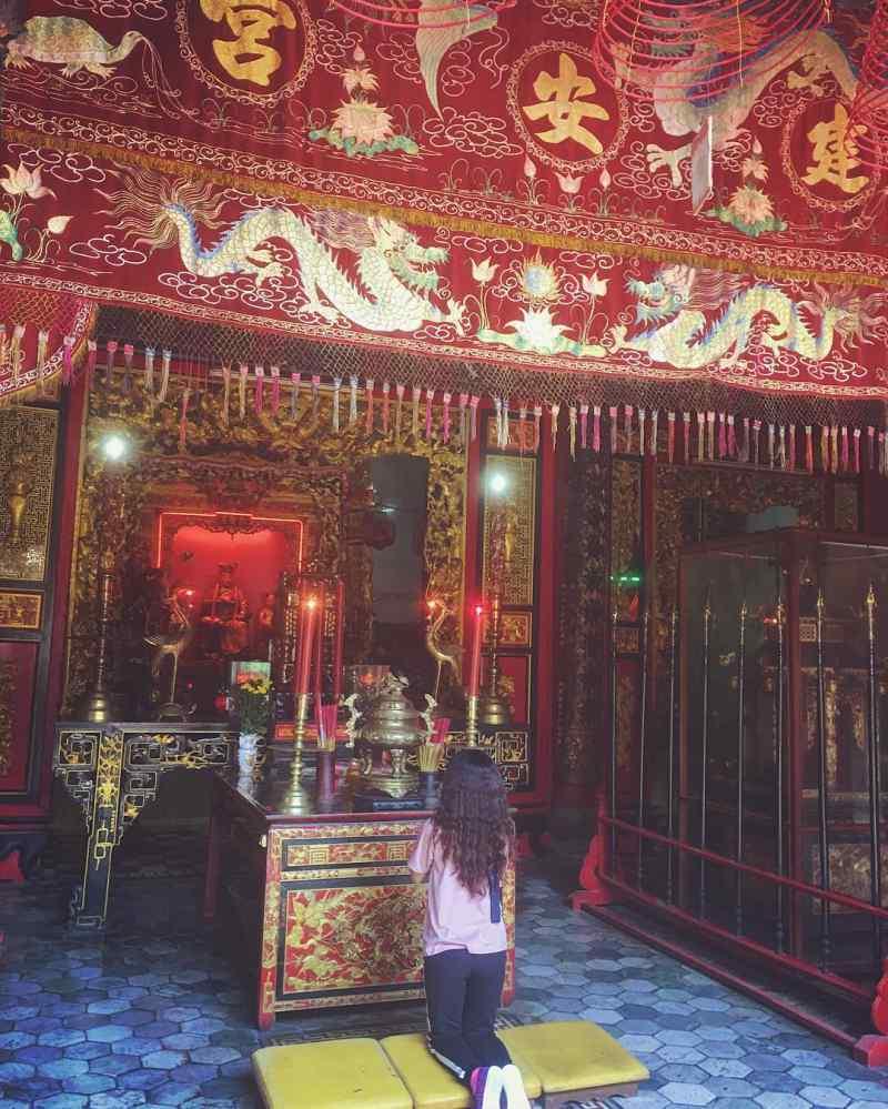Không gian chùa Thiên Vương Cổ Sát