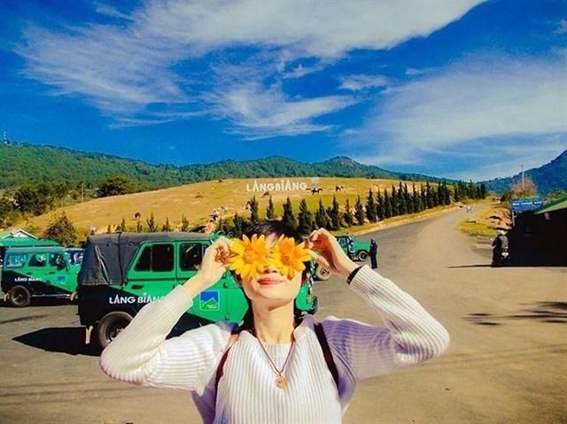 khu du lịch núi Langbiang