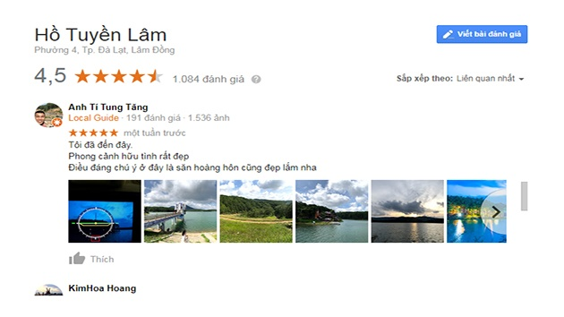 Review hồ Tuyền Lâm Đà Lạt