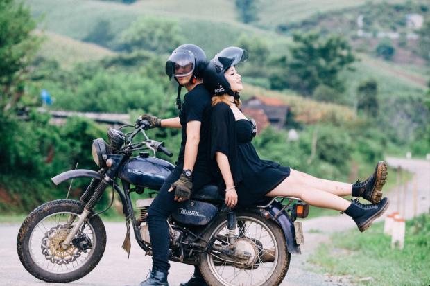 Tham quan Đà Lạt bằng xe máy