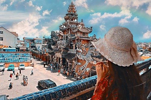 Giờ mở cửa chùa Linh Phước
