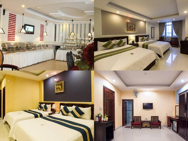 Khách sạn 3 sao đường Phan Bội  Châu