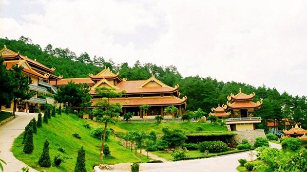 Quá trình xây dựng Thiền Viện Trúc Lâm