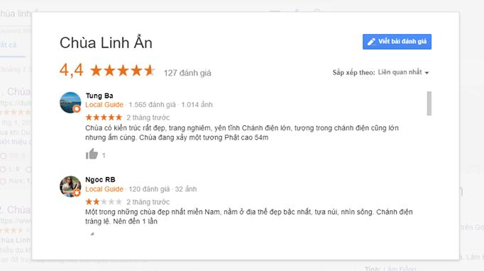 Review chùa Linh Ẩn Tự