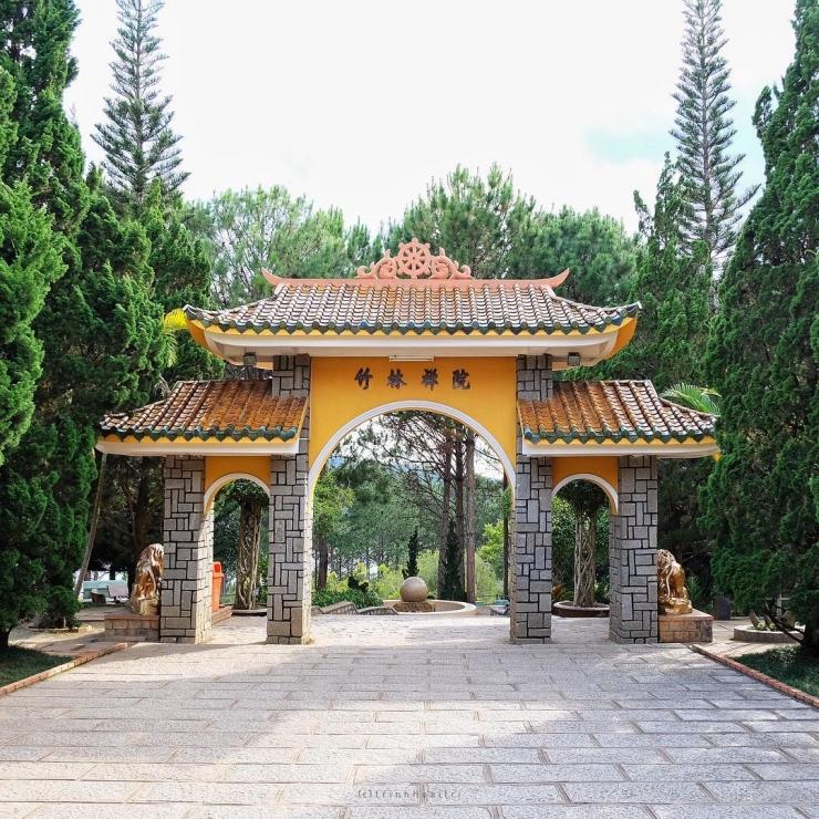 Thiền Viện Trúc Lâm Đà Lạt có gì hót