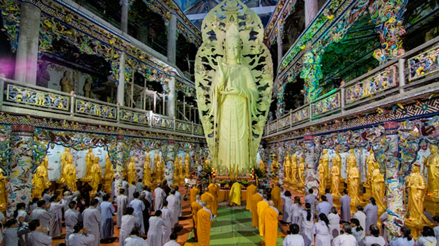 Tượng phật xây bằng cốt thép cao nhất Việt Nam
